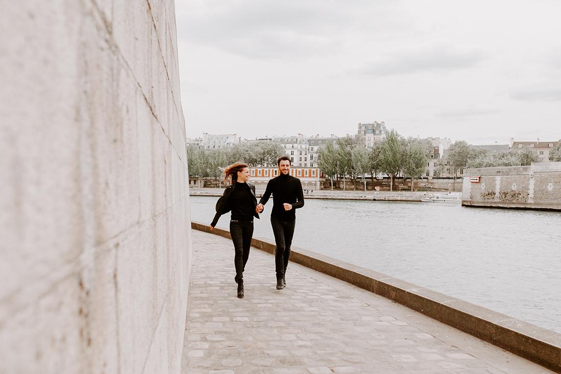 séance photos couple paris