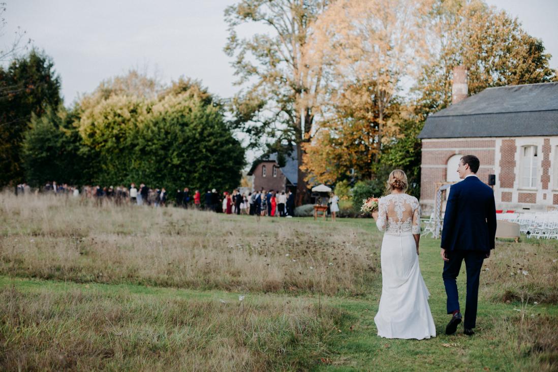 mariage au chateau de bonnemare