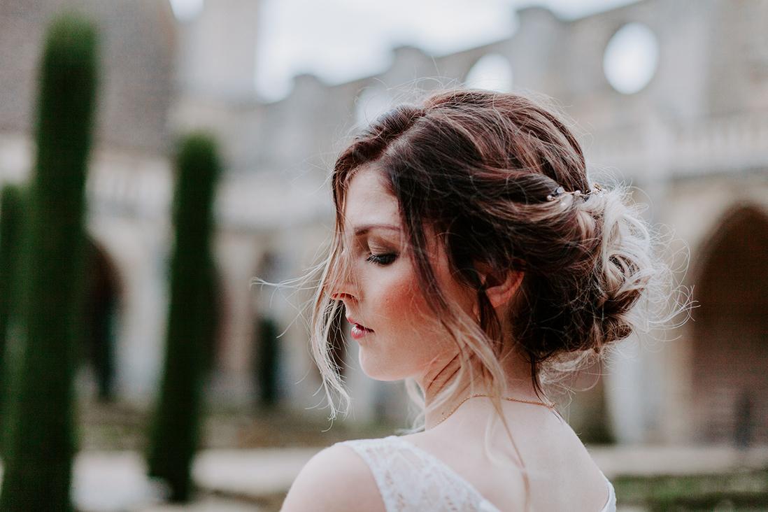 mariage coiffure mariee chignon inspiration mariee